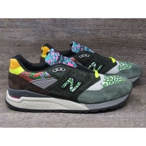 "NEW BALANCE ""WOODSTOCK"" EARTH PATTERN RARE"